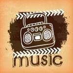diseño de música — Vector de stock  #36228469