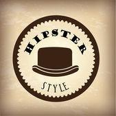 Hipster — Stok Vektör