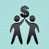 Business planner — Stock Vector