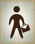 Businessman — Stok Vektör