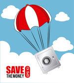 Savings icon — Stock Vector