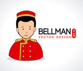 Bellman — Stock Vector