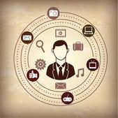 Multimedia — Stock Vector