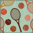 Stock Vector: Tennis design