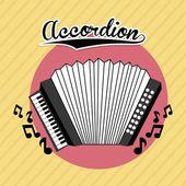 Musical design — Stock Vector