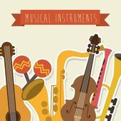 Musical design — Stock Vector