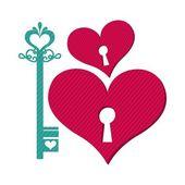 Liebe design — Stockvektor