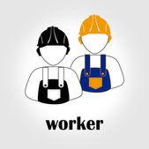 Workers — Stock Vector
