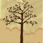 Tree autumn — Stock Vector #36605687