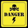 Stock Vector: Danger design