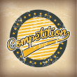 Competition — Vector de stock #36676397