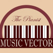 Music design — Vector de stock #36909191