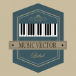 Music design — Stock Vector #36909195