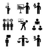 Conceptual business — Stock Vector
