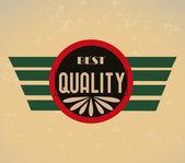 Qualità premium — Vettoriale Stock