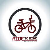 Conception de vélos — Vecteur