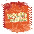 Youth culture — Stock Vector #37197685