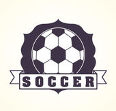 Soccer design — Stock Vector