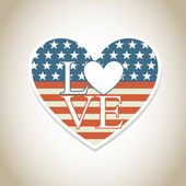Amore — Vettoriale Stock
