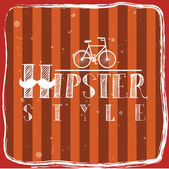Hipster — Stock Vector