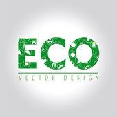 Eco design — Stock Vector