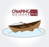 Camping design — Stock Vector