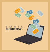 Email marketing — Stock Vector