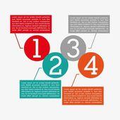 Numbers design — Stock vektor