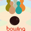 Bowling — Stock Vector #38318147