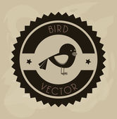 Bird — Stock Vector