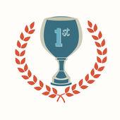 Trophy design — Stock Vector