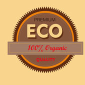 Premium eco — Stock Vector