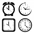 Stock Vector: Time design