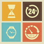 Time design — Vector de stock