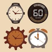 Time design — Stock Vector