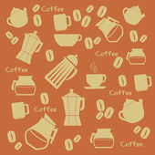 Coffee design — ストックベクタ