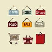 Commerce design — Stock vektor