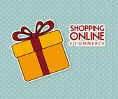 E-commerce design — Stockvector