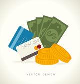 Commerce design — ストックベクタ