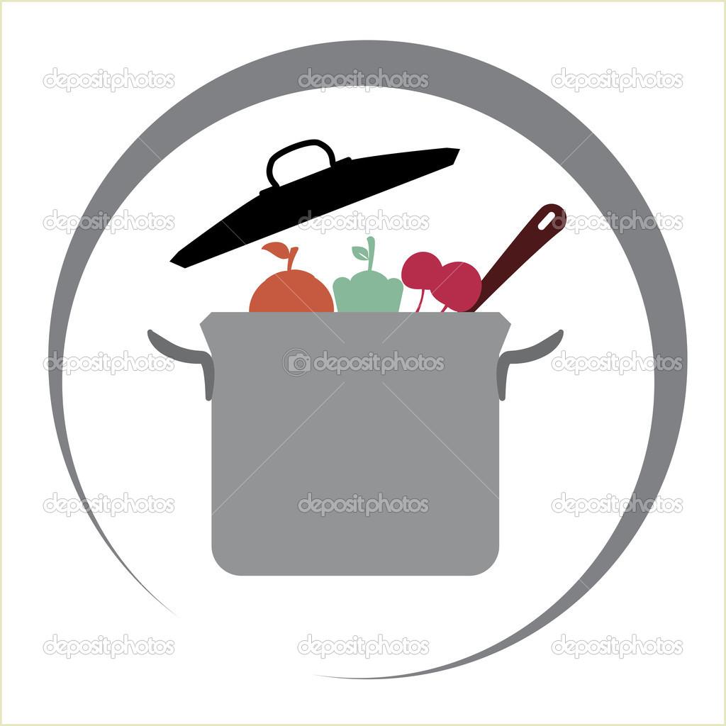 Projeto da cozinha — Vetor de Stock © yupiramos #39291743 #A2293E 1024 1024