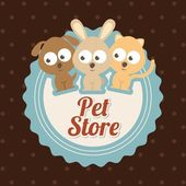 Pets design — Stockvektor