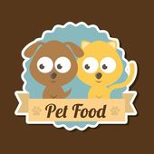 Pets design — Vetorial Stock