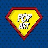 Pop art — Vetorial Stock