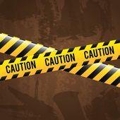 Uyarı tasarım — Stok Vektör