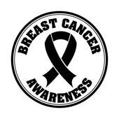 Cancro al seno — Vettoriale Stock
