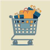 Conception de commerce — Vecteur