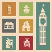 дизайн города — Cтоковый вектор