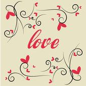 Láska — Stock vektor