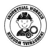 Industrial workers — Stock Vector