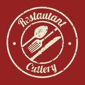Restaurangmeny — Stockvektor